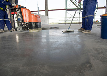 Men Stone Floor Cleaning